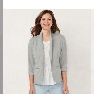 Lauren Conrad light gray blazer